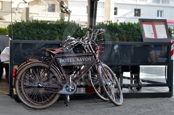 The hotel savoy 3 bikes