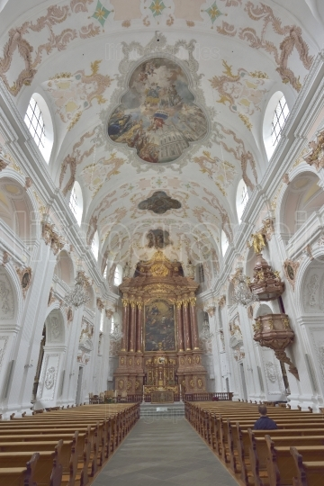 The Lucerne Jesuit  Catholic church in Lucerne   24 July 2017