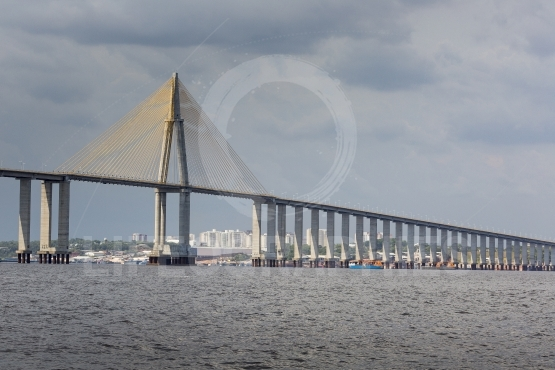 The manaus iranduba bridge (called ponte rio negro in brazil) is