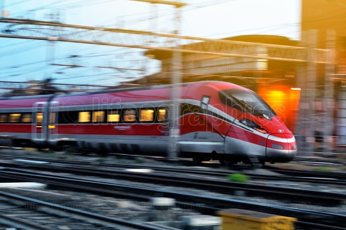 The modern high speed train
