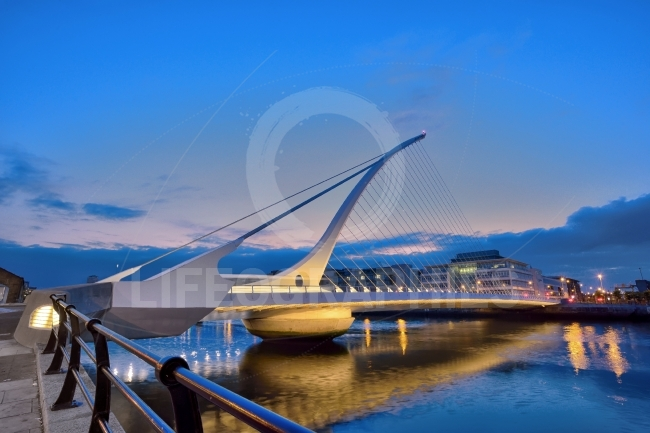 The Samuel Beckett Bridge