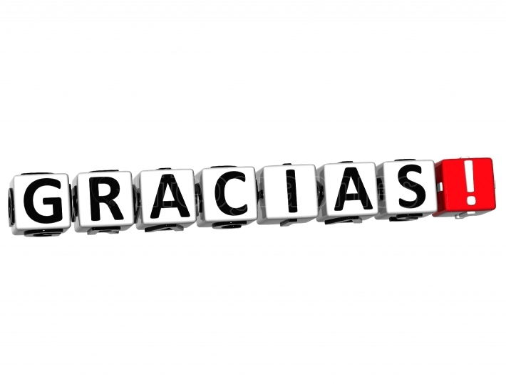 The word Gracias   Thank you in many different languages