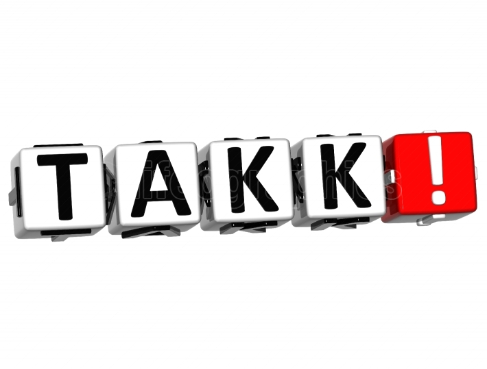 The word Takk   Thank you in many different languages