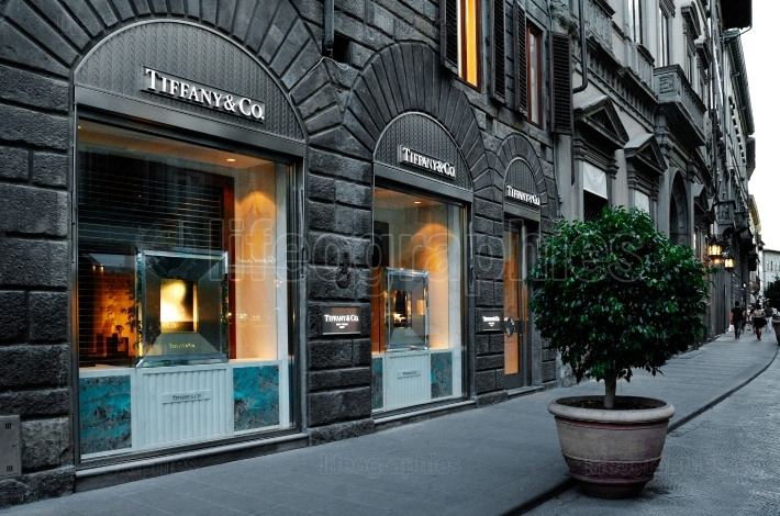 Tifanny & Co store in Florence