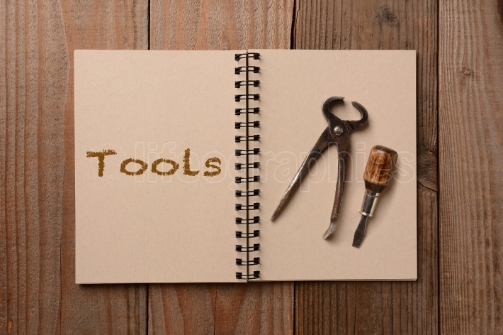 Tools on an Open Notebook