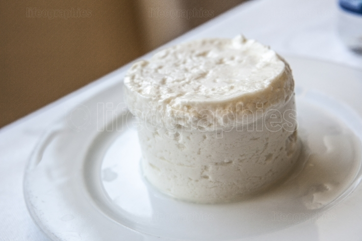 Traditional portuguese cottage cheese