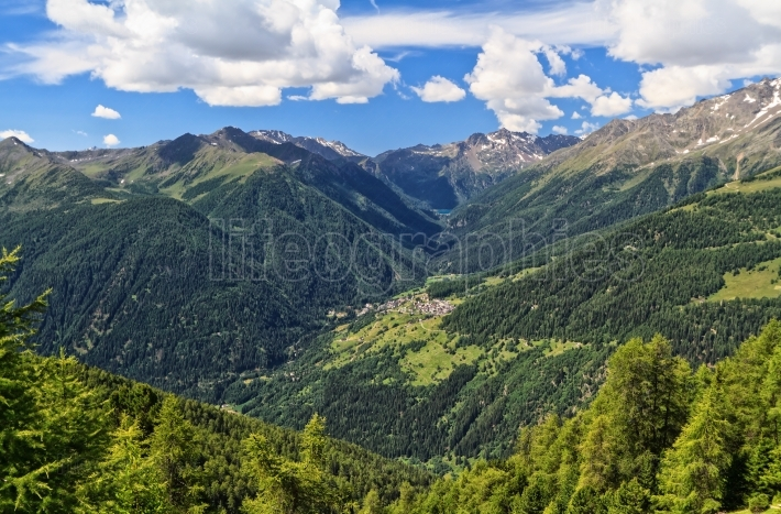 Trentino   Pejo valley overview