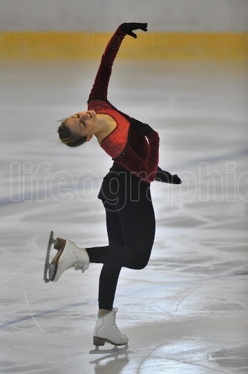 Unknown skater competing in the event ''cristal skate'' of roma
