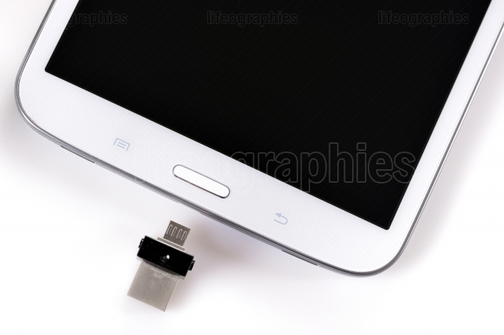 USB flashes drive ss 3.0 and tablet