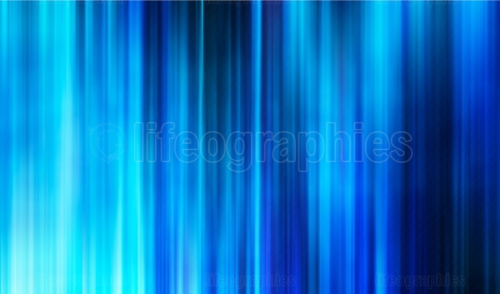 Vertical abstract blue curtains background