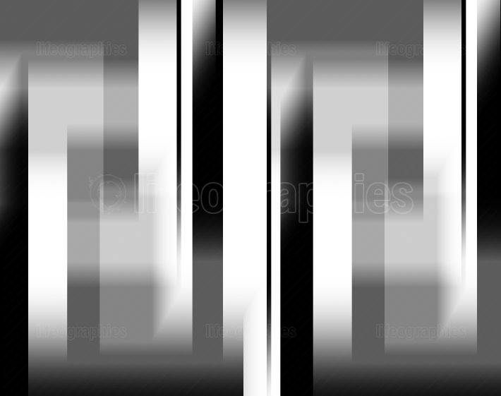 Vertical black and white motion blur illustration background