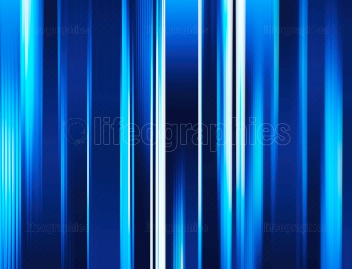 Vertical blue blurred abstract curtains background