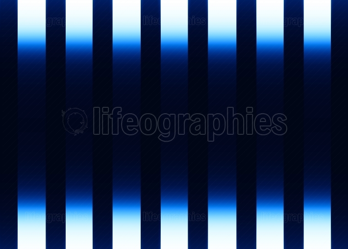 Vertical blue motion blur curtains background