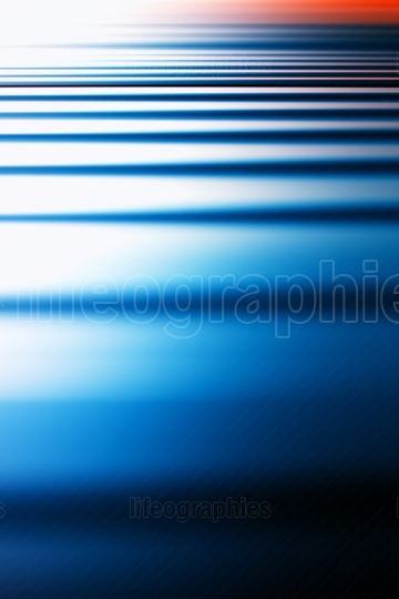 Vertical blue ocean sunset abstract illustration background