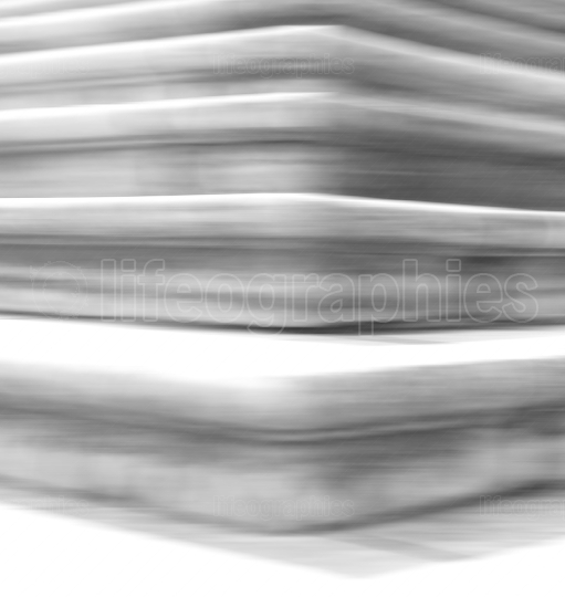 Vertical bright white stairs blur abstraction background backdro