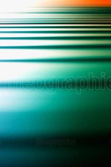Vertical green ocean sunset abstract illustration background
