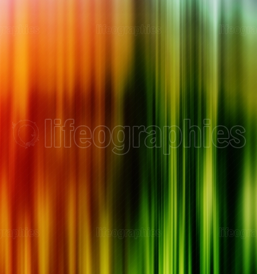 Vertical vivid orange green lines business presentation backgrou