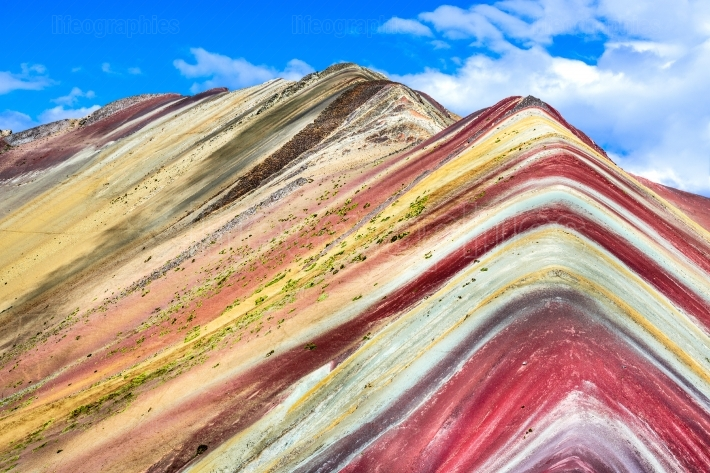 Vinicunca, rainbow mountain - peru