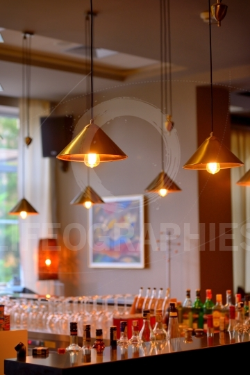 Vintage hanging edison lights