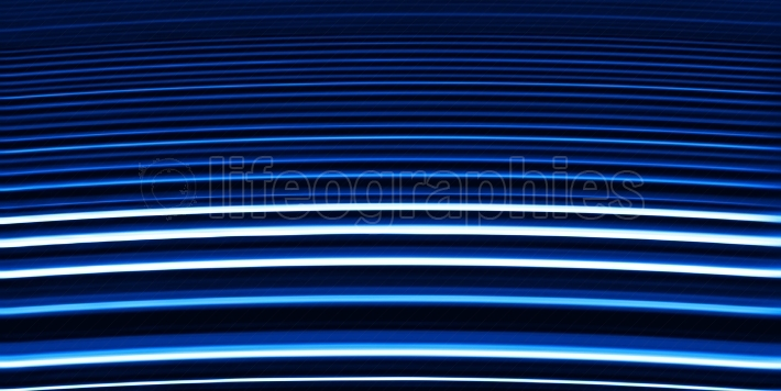 Virtual blue stairs abstraction backdrop