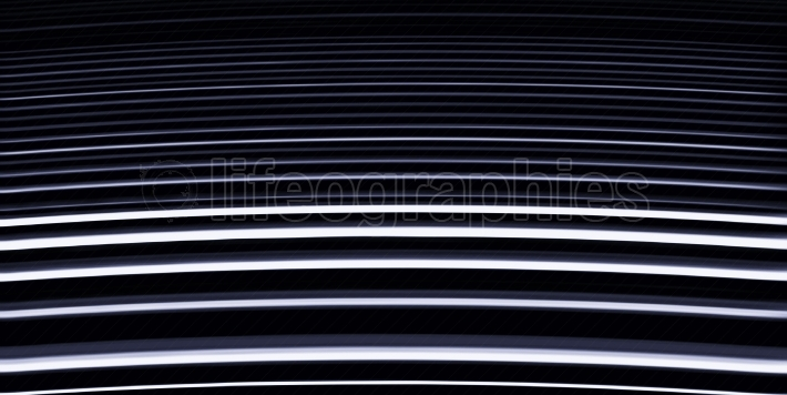 Virtual dark blue stairs abstraction backdrop