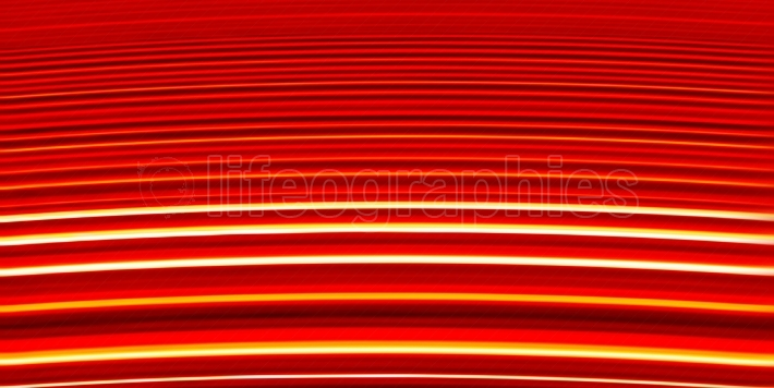 Virtual red stairs abstraction backdrop