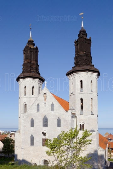 Visby Cathedral Sweden