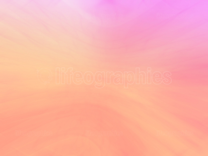 Vivid orange and pink bokeh background