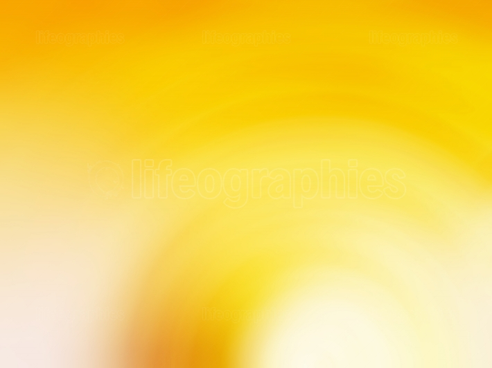 Vivid orange bokeh background