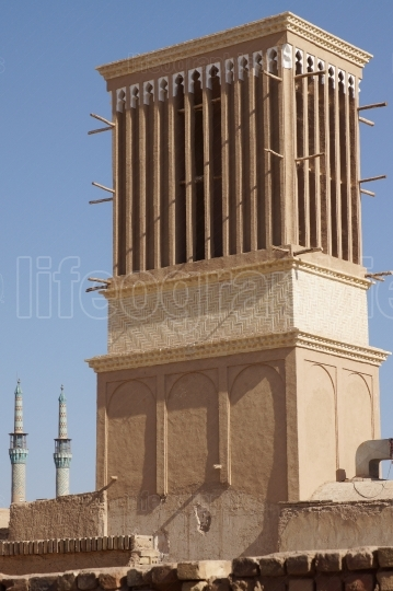Wind Tower, Yazd, Iran