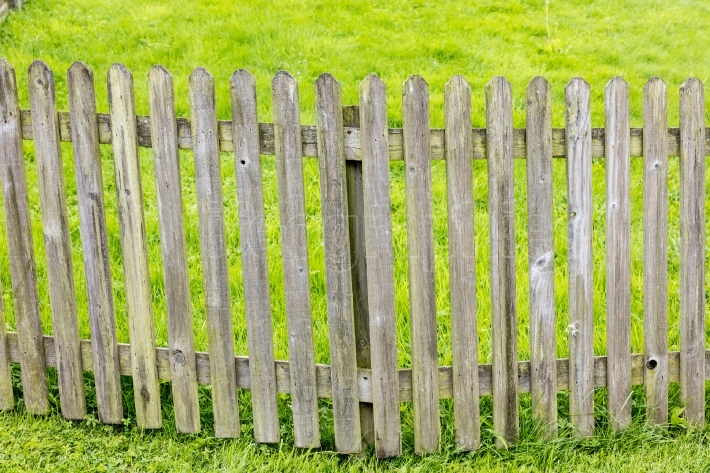 Wooden fence, Ireland