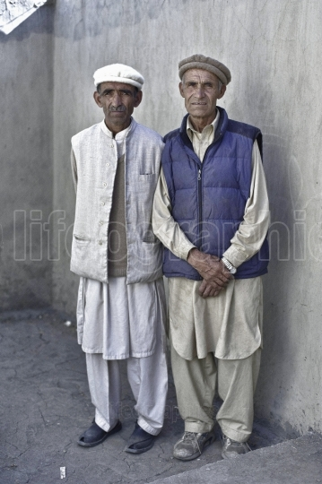 Workers from shimshal village