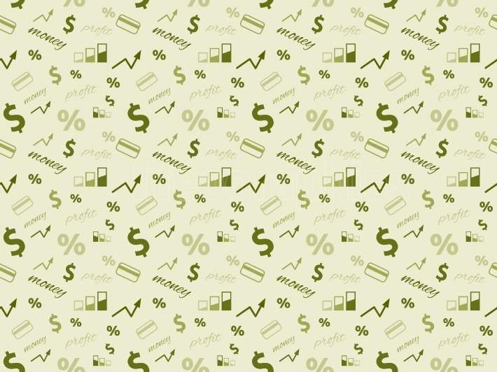 Business and finance seamless pattern Seamless money pattern
