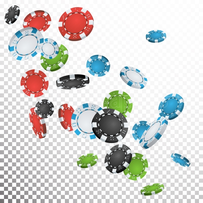 Falling Casino Chips Vector  Flying Realistic Gambling Poker Chips Explosion  Transparent Background  Casino Prize Money Fortune Flow Jackpot