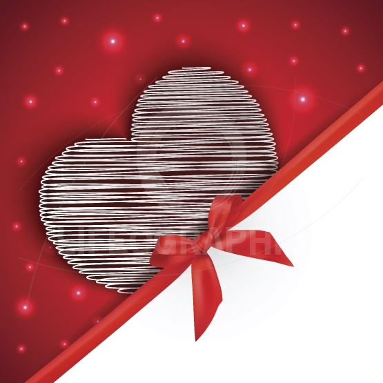 Hearts gift greeting card