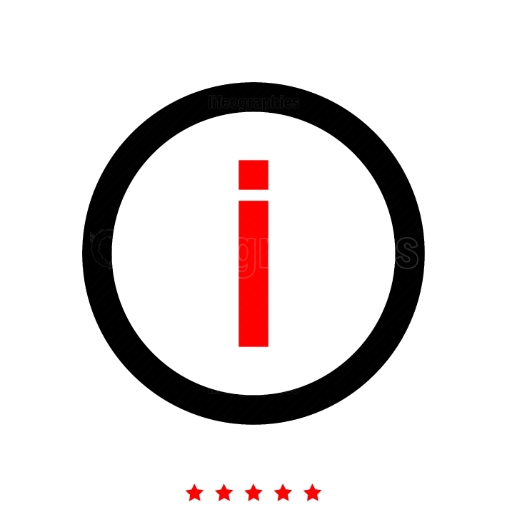 Information it is icon