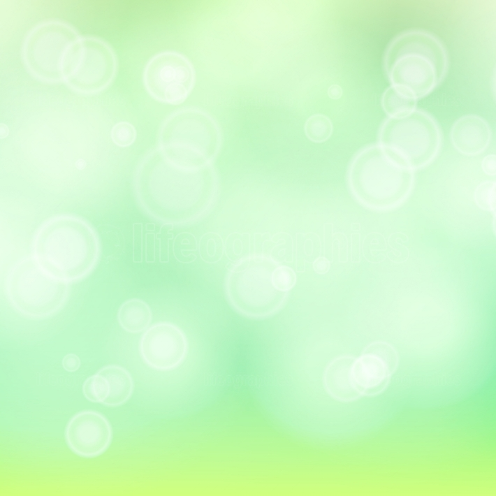 Light Green Background Vector  Bokeh Background With Vintage Filter