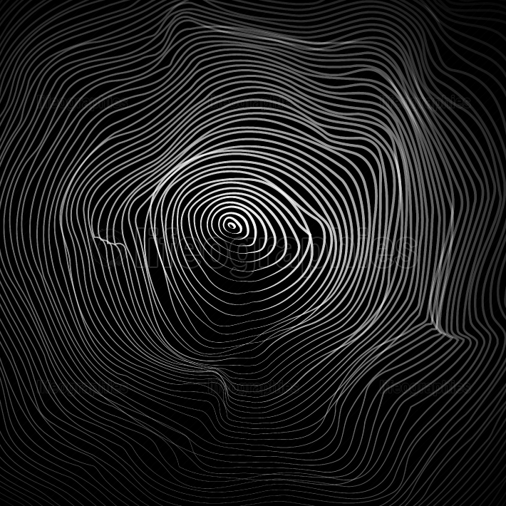 Moire Abstract Texture Vector  Moire Waves  Vector Warped Lines Background  Moire Effect