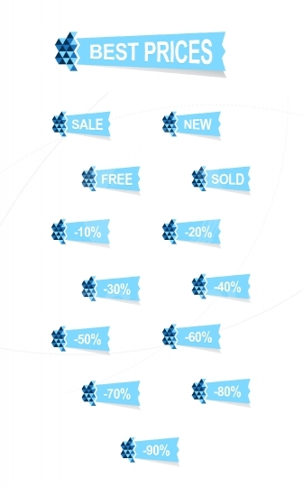 Origami stickers discount set