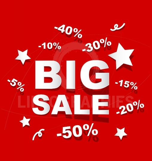 Paper BIG SALE background