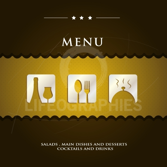 Restaurant Menu cover sample presentation