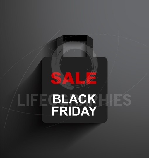 SALE shopping bag Black Friday