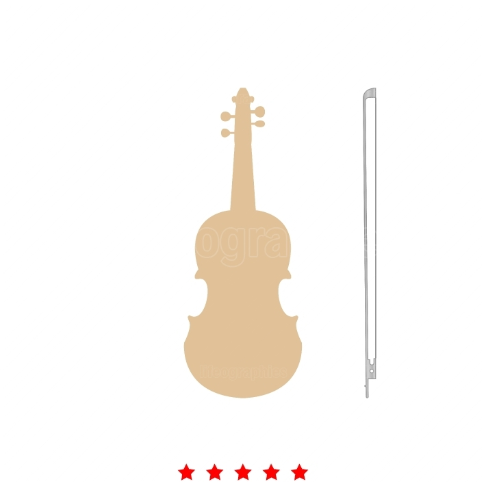 Violin it is icon