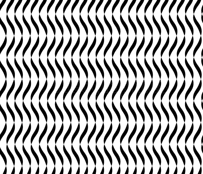 Wavy Lines Seamless Vector Abstract Background  Black And White Wavy Lines Abstract Pattern