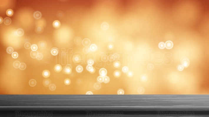 Wood Table Top Vector  Abstract Morning Sunlight